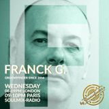 Franck G. - G. Therapy Radioshow on SoulMix Radio (UK) 01-05-2019