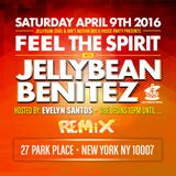 Jellybean Benitez Live Set from #FeelTheSpirit at #ClubRemixNYC April 9th, 2016