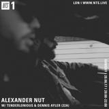 Alexander Nut - 20th August 2017