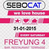 Sebocat - live @ we love house - Freyung 4 // 31-01-2015