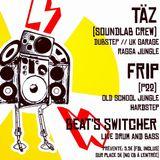 Täz - BASSHAZARD/Ragga Jungle Session@Fridge (2017.05.13)