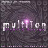 ELEKTRO DESIGN - MULTITON (ALBUM) - CONTINUOUS LIVE DJ MIX BY ANDREAS LOTH OF THE ALBUM TRACKS