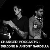 "Charged invites ""Delcone & Antony Nardella"""