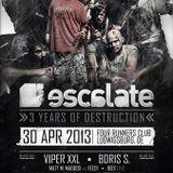 Danomusik @ 3 Years Escalate 30.04.2013