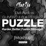 Daft Punk vs.Quintino & Blasterjaxx-Harder,Better,Puzzle,Stronger