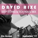 Deep Techno & Tech House Mix   September 2017   Live Session