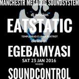 Live on the Megadog Soundsystem