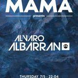 Álvaro Albarrán LIVE@MAMA Club (Pto. Banús) (7-5-2015)