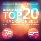 TrancePodium Top 20 Tracks Of 2015