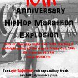 hiphop marathon tmp 13th anniv break fast breakbeat mix 2016