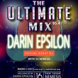 Nemesis - The Ultimate Mix Radio Show on 95.4 FM 16 /12/2014 (Guest Darin Epsilon)