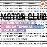 Peter Czak Techno DJ-Mix @ Motor Club #3 / Fluc Vienna 2015