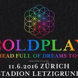 Coldplay - live at letzigrund zürich 2016
