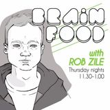 Brain Food With Rob Zile - Live On KissFM - 10 - 12 - 2015 - PART 3 - GUEST MIX - QUINN JEROME