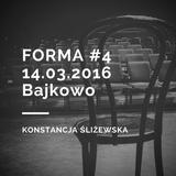 14.03.2016 Forma, Radio Jantar, Konstancja Śliżewska