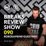 BRS090 - Yreane - Breaks Review Show   Robosapiens Guest Mix @ BBZRS (20 Jul 2016)