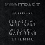 Étienne @ Kontrast - Sebastian Mullaert, Wigbert, Matt Star (MTW Club, Offenbach)