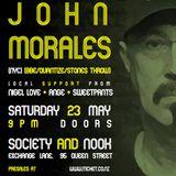 John Morales VIP room warm up set