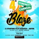 DJ STARTING FROM SCRATCH & JESTER - BLAZE CARIBANA MIX