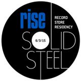 Solid Steel Radio Show 6/3/2015 Part 3 + 4 - Rise Records