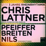 Chris Lattner @ 3 Jahre Rheinrhythmik - Gewoelbe Koeln, 19-01-2013