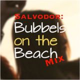 Bubbles on the beach mix
