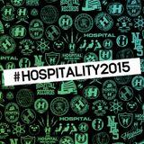 VA - Hospitality 2015 / Continuous Mix CD1