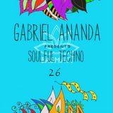 Gabriel Ananda Presents Soulful Techno 26 Special X - Mas Edition