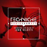 TRS023 Techniche Live: John Vilotti 06.02.17