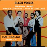 BLACK VOICES spéciale HAITI SALSA années 70  RADIO DECIBEL