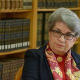 Consuelo Maquívar, investigadora emérita del INAH