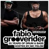 DJ DANNY INTRO :: Fabio & Grooverider 25 Years Promo Mix :: SUNDAY 30TH OCTOBER 2016