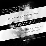 DJ Obscene Live From The Gansevoort Park 11.18.17