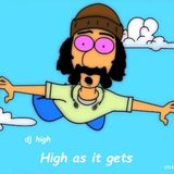 High as it gets.