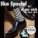 Ska! Ska! Ska! show on KTUH 90.1