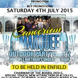 THE BIG MARQUEE PARTY PT2 JULY 4TH 2015 D-MAC,TONY F,DODD (Studio Express) & SPECIAL TOUCH!