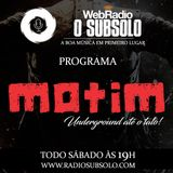 Motim Underground - Web Rádio O Subsolo - 16/06/2018