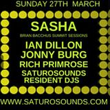 Ian Dillon Saturo Sounds 2nd Birthday Easter special 27/03/2016