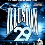 dj's A-Tom-X vs David Dm @ La Rocca backstage - 29 Years Illusion 01-10-2016