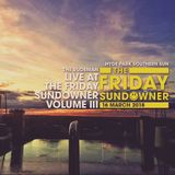 The Rudeman - Live at the Friday Sundowner (Volume III)