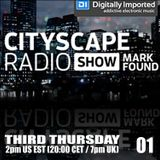 Mark Found - Cityscape Radio Show 01 (19 - 02 -2015)