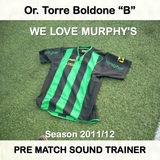WE LOVE MUPRHY'S - PRE MATCH SOUND TRAINER - 17.12.11