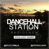 SELECTA KILLA & UMAN - DANCEHALL STATION SHOW #219 - SPECIAL GUEST DJ KOS'D