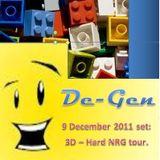 De-Gen goes UK Hard House (HARG NRG tour) November 2011 @3D Melbourne