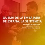 21 ENE 2015 - Quema de la Embajada de España: la sentencia