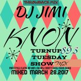 TURNUP TUES SHOW-MIX (DJ JIMI) MARCH 28.2017 FREESTYLE-OLDIES-DANCE!