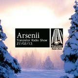 Arsenii - Tranzistor radio show podcast 27.02.13