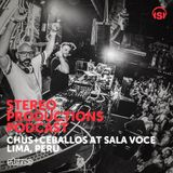 WEEK30_15 Chus & Ceballos Live from Sala Voce, Lima (Peru)