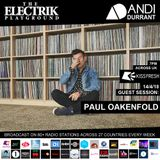 Electrik Playground 14/4/18 inc. Paul Oakenfold Guest Session