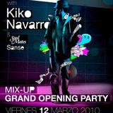 Kiko Navarro Live @ Soulmates w/MixUp. Mondo Club Barcelona 12.03.2010